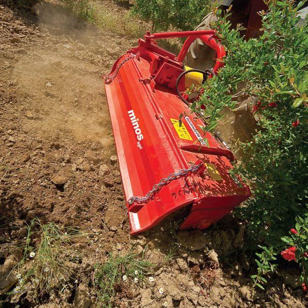 روتیواتور باغی کشویی هیدرولیک